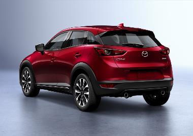 2020 Mazda CX-3_Rear_Left